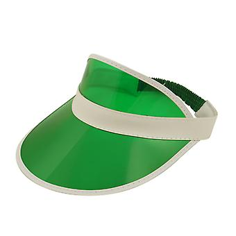 Verde Poker / Golf visiera cappello costume accessorio