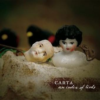 Carta - Index of Birds [CD] USA import