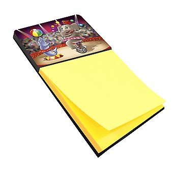 Carolines Treasures  APH3816SN Circus Elephand and Dolphin Sticky Note Holder