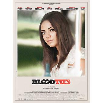 Blood Ties Movie Poster (11 x 17)