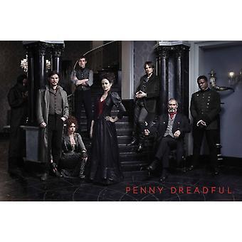 Penny Dreadful - Cast Plakat Poster drucken