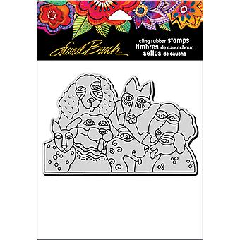 Stampendous Laurel Burch Cling Stamp 6.5