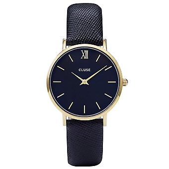 Cluse Ladies' Minuit Leather Watch CL30014