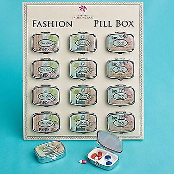 Travel Design Pill Boxes