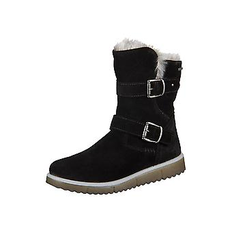 Zapatos de los cabritos de Superfit Kombi terciopelo 80048402 universal