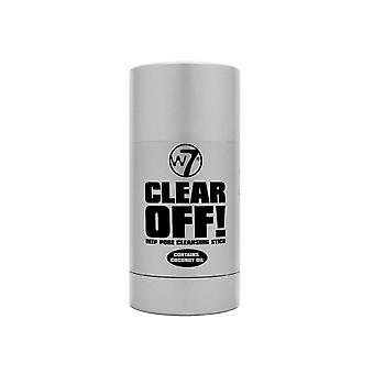 W7 Clear Off Deep Pore Cleansing Stick Contains Coconut Oil 28g