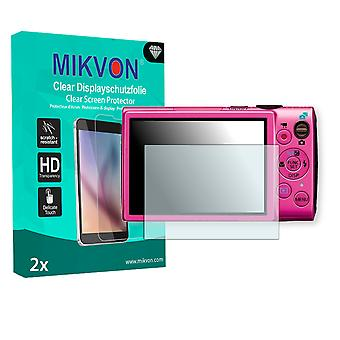 Canon PowerShot ELPH 330 HS Screen Protector - Mikvon Clear (Retail Package with accessories)
