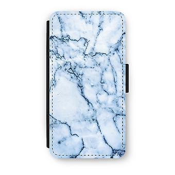 Huawei P9 Flip Case - Blue marble