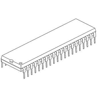 Embedded microcontroller PIC16F874A-I/P PDIP 40 Microchip Technology 8-Bit 20 MHz I/O number 33