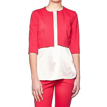 Pinko women's 1G135W6200R51 red viscose jacket