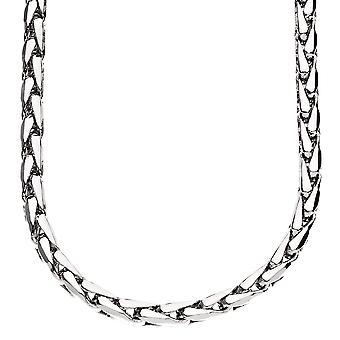Iced Out Bling DC FRANCO Kette - 5mm silber