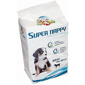 Nayeco Super large Nappy diaper wipe (parts) 50 units (Dogs , Training Aids , Behaviour)
