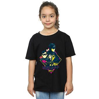 DC Comics Girls Batman TV Series Character Pop Art T-Shirt