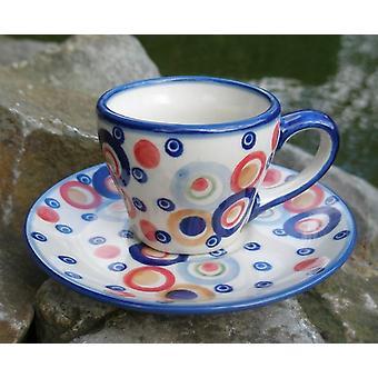 Espresso Cup & saucer, opción 2, colorido, BSN J-1297
