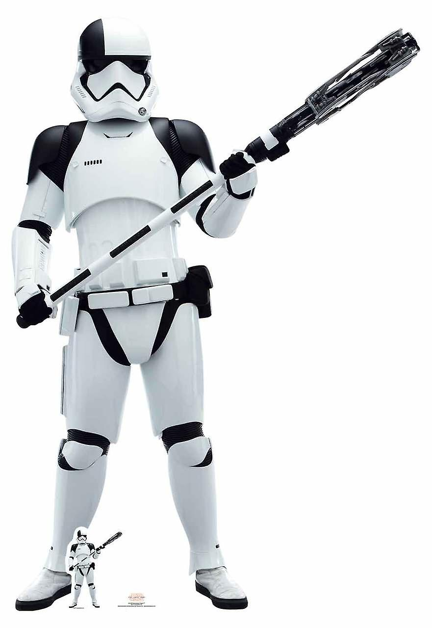 First Order Executioner Trooper The Last Jedi Lifesize Cardboard Cutout