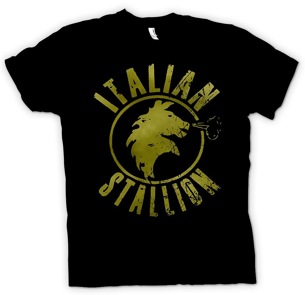 Womens T-shirt - Italian Stallion - Rocky - Boxing