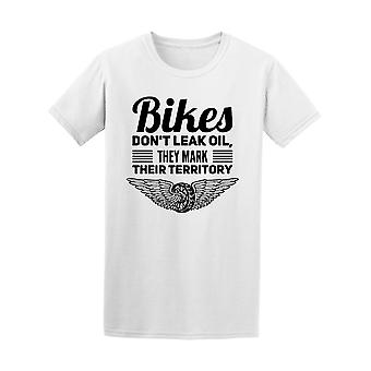 Biker nicht Leck Öl Motorrad Angebot T-Shirt Herren-Bild von Shutterstock