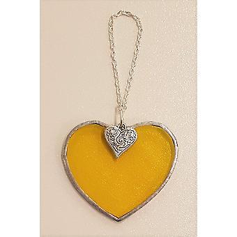 Simmerdim Design Small Yellow Heart Heart
