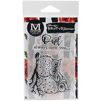 Brutus Monroe Clear Stamps 3X4-Owl Love You