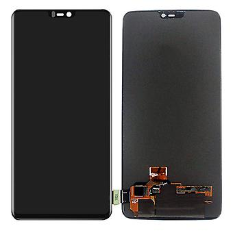 For ONEPlus 6 SIX repair display LCD complete unit touch Black replacement