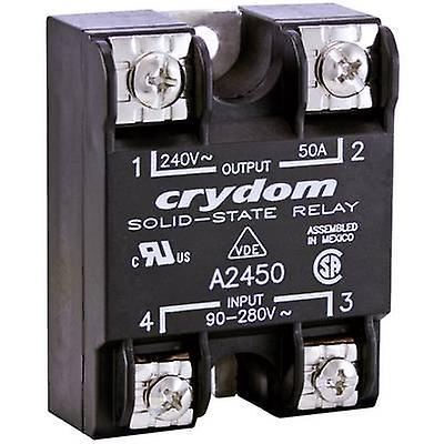 Crydom SSR 1 confiez A2450 charge électrique (max.)  50 tension de commutation A (max.)  passage à 280 V AC zéro