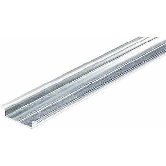 HellermannTyton DELTA-3/BV DIN non rail fori acciaio piastra 2000 mm 1/PC