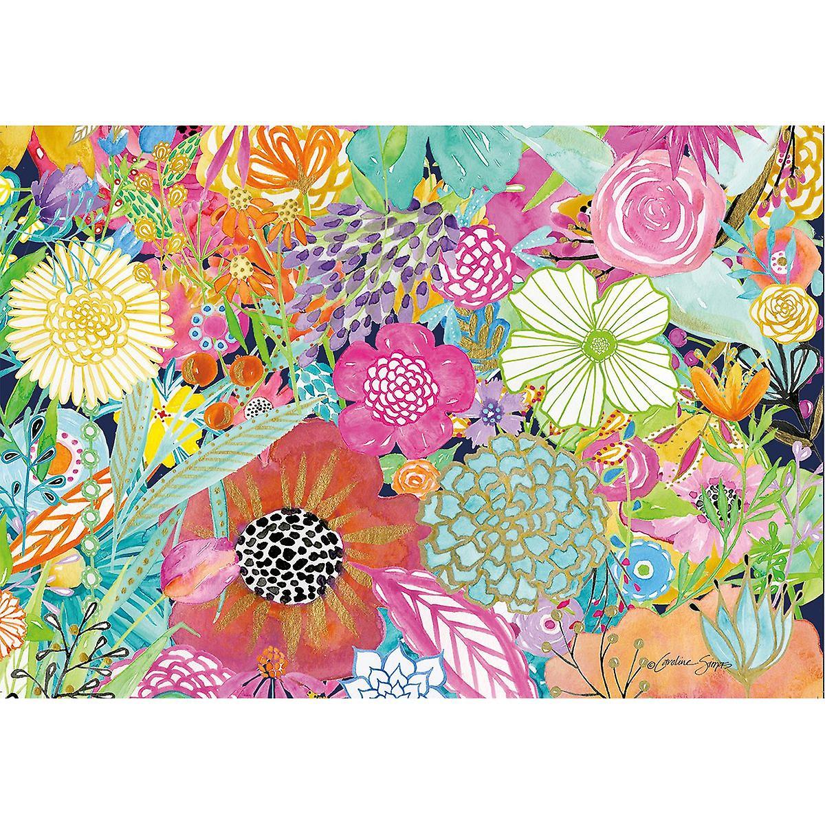 Jigsaw Puzzle 1000 Pieces 29 & 034;X 20 -jardin fleurs sauvages