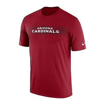 Nike Nfl Arizona Cardinals Sideline Seismic Legend Performance T-shirt