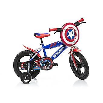 DINO Bikes Captain America 16inch Bicycle