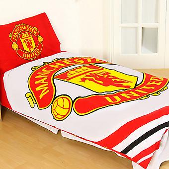 Manchester Unitted FC Official Pulse Duvet Set