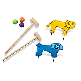 BuitenSpeel Croquet Junior Multi Colours