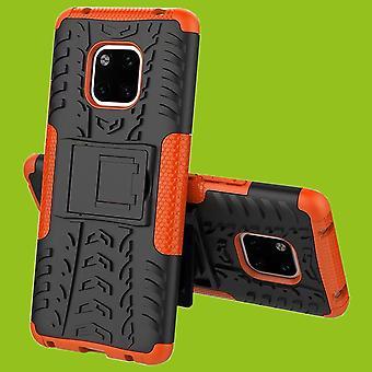 For Huawei kompis 20 Pro hybrid tilfelle 2 stykke Koczian utendørs oransje bag coveret beskyttelse