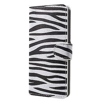 Samsung Galaxy S9 G960 Wallet Case-Zebra-Streifen