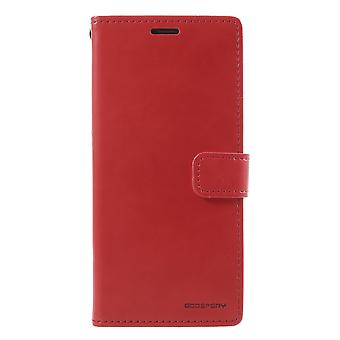 MERCURY GOOSPERY Blue Moon Samsung Galaxy S9 Plus-Red