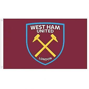 West Ham United flagga CC