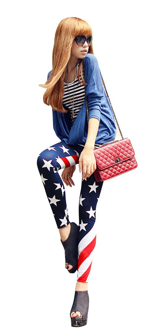 Waooh - Fashion - leggings pattern America