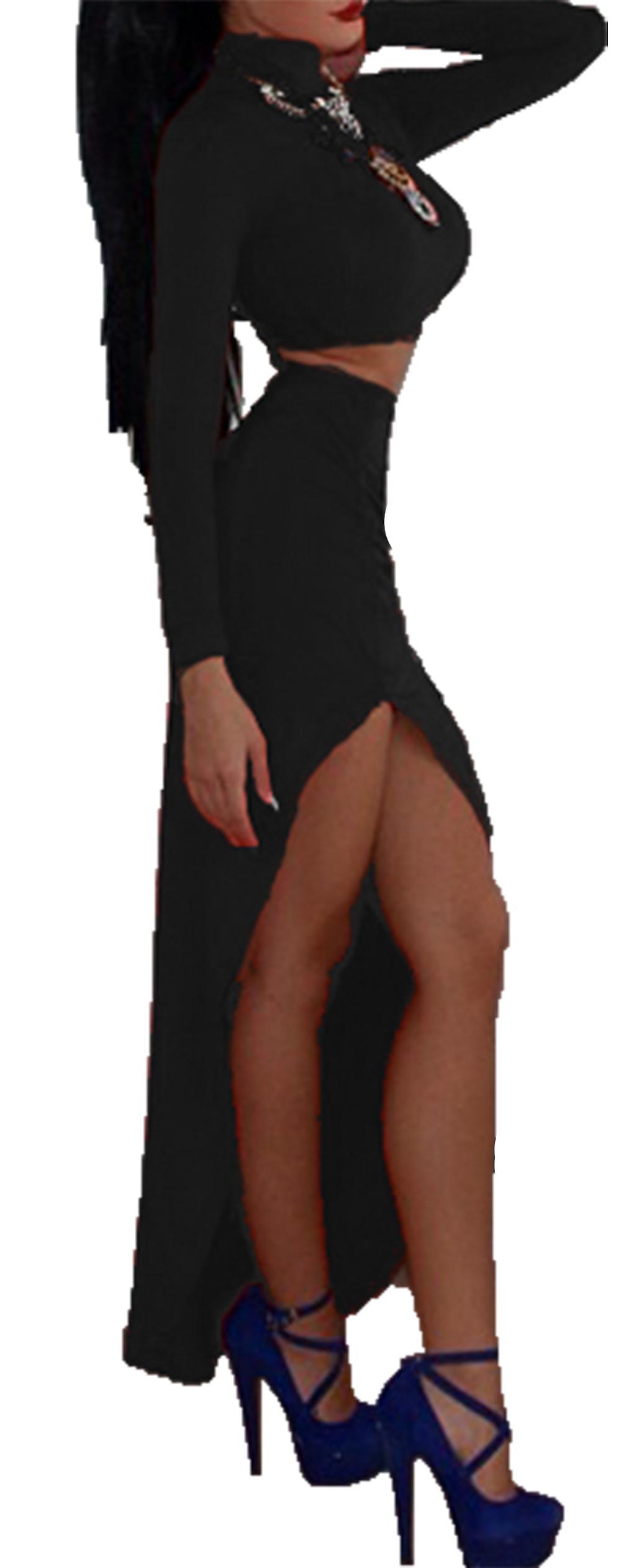 Waooh conjunto Top y falda larga