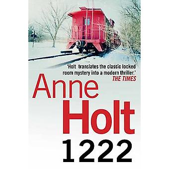 1222 (Main) by Anne Holt - Marlaine Delargy - 9781848876095 Book