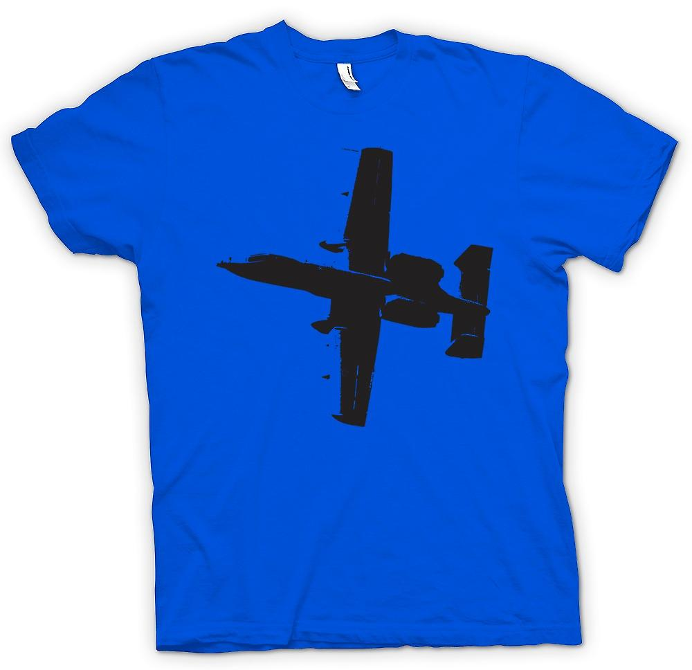 Mens T-shirt - A10 Thunderbolt Tank Buster - Awesome Fighter