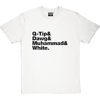 Племя под названием Quest состав Мужская футболка