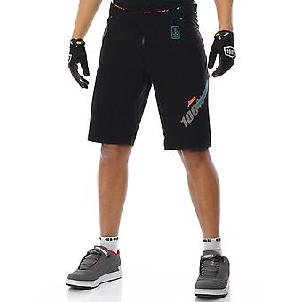100 Percent Black 2017 Airmatic Fast Times MTB Shorts
