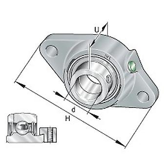 INA PCJT40-XL-N Two Bolt Flanged Housing Unit