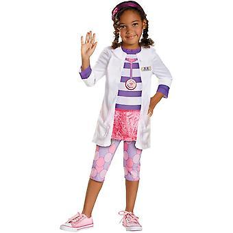 Doc Mcstuffins meisje kind kostuum