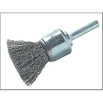 DIY STEEL WIRE END BRUSH 25MM X 0.30