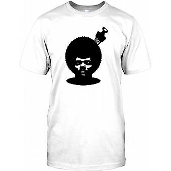 Afro con pettine - Cool Design Hip Hip Mens T-Shirt