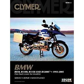 Clymer BMW R850 - R1100 - R1150 and R1200c - 1993-2005 (2nd) by Clyme