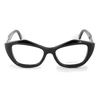 Balenciaga BA 5074 001 53 Geometric Cat Eye Eyeglasses Frames