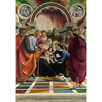 The Circumcision,Luca Signorelli,60x42cm