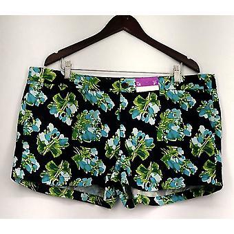 Merona Plus Shorts 4 Pocket Floral Print Blue Womens Merona Plus Shorts 4 Pocket Floral Print Blue Womens Merona Plus Shorts 4 Pocket Floral Print Blue Womens Meron