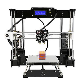 Anet a8 m diy 3d printer kit - dual nozzles, online & offline printing, 40-120mm/s print speed, high precision